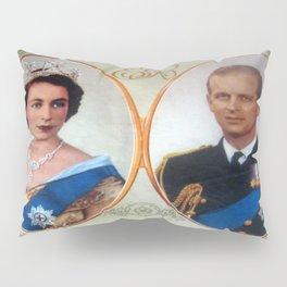 Queen Elizabeth 11 & Prince Philip in 1952 Pillow Sham