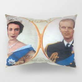 Queen Elizabeth 11 & Prince Philip in 1952 Pillow Sham