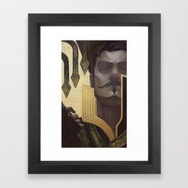 Dorian Pavus Tarot Card Framed Art Print