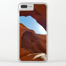 Antelope  Canyon  #11 Clear iPhone Case