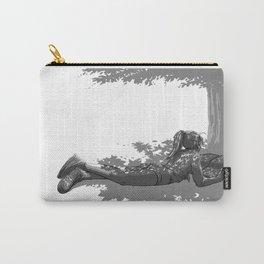 Fille sous un arbre Carry-All Pouch
