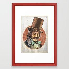 The Butcher Remix Framed Art Print