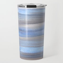 Blue Watercolor Background | Frozen Summer Series 172 Travel Mug