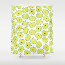 Summer apple Shower Curtain