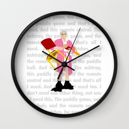 """The Jerk ... """"All I need"""" Wall Clock"""