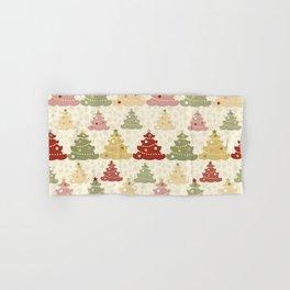 Colored Christmas tree SB2 Hand & Bath Towel