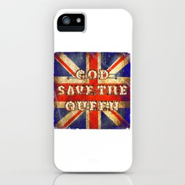 God save the Queen - GB iPhone Case