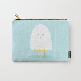 Halloween chick in ghost costume Carry-All Pouch