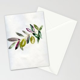 green olives Stationery Cards