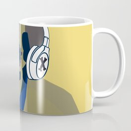 Skeleton music cool  Coffee Mug