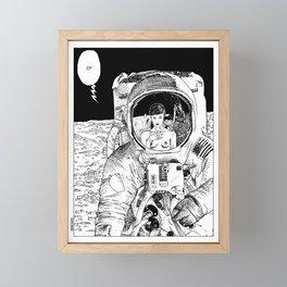 asc 333 - La rencontre rapprochée ( The close encounter) Framed Mini Art Print
