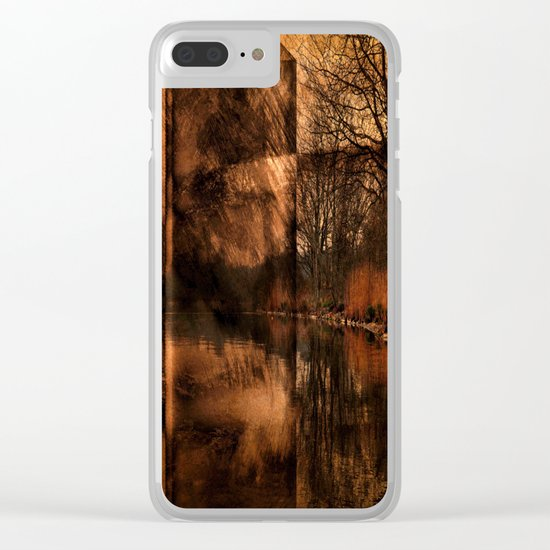 art abstract### Clear iPhone Case