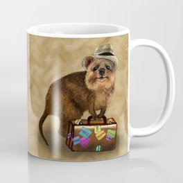 Traveller // quokka Coffee Mug