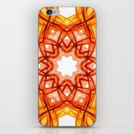 Crystal Mandala Star iPhone Skin