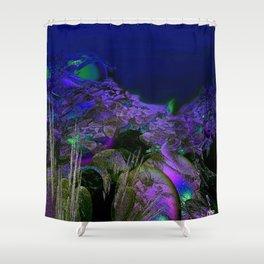 The Ocean Floor Shower Curtain