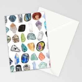 Illuminated Structure: Mineral Party 2 Stationery Cards