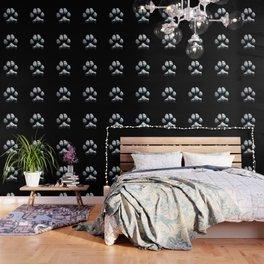 Dog Paw Print Pop Art Animal Lovers - South Paw Wallpaper