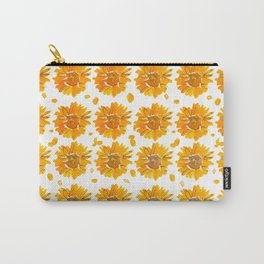 Sunny Sunflowers Carry-All Pouch