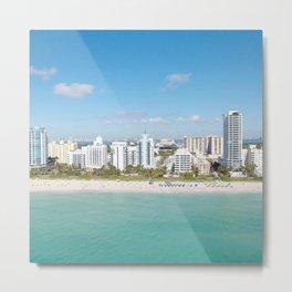 USA Photography - Miami Beach Metal Print