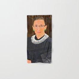 Ruth Bader Ginsburg Quote Hand & Bath Towel