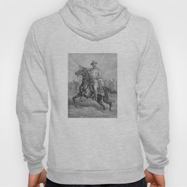 Colonel Theodore Roosevelt On Horseback Hoody