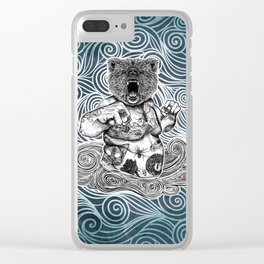 Gizzly Clear iPhone Case