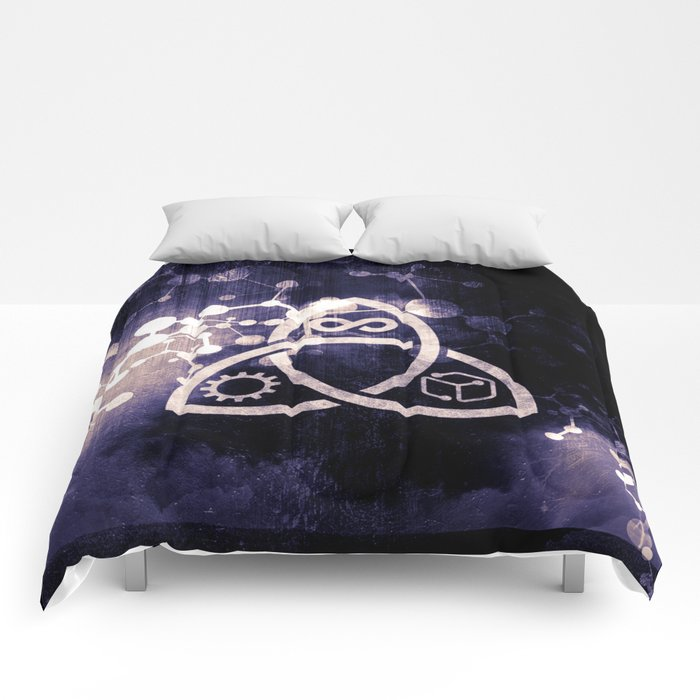 Raines Empire - Coalition Symbol Comforters