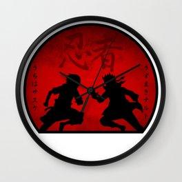 Last Battle Wall Clock