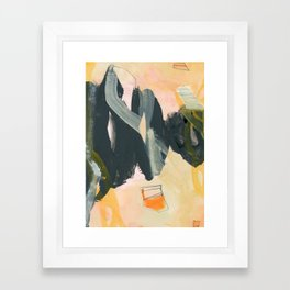 abstract painting IV Framed Art Print