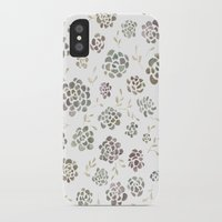 succulents iPhone & iPod Cases featuring Succulents by Kelli Murray