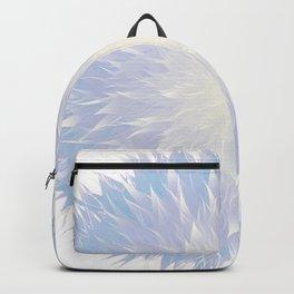 Mandala Flower || Blue Backpack
