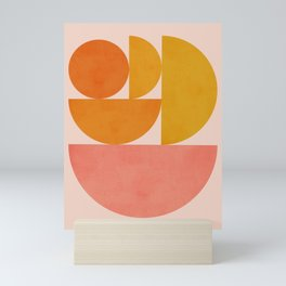 Abstraction_Summer_Color_Minimalism_001 Mini Art Print