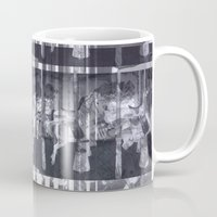 glitch Mugs featuring Glitch  by Electra Withey