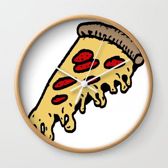 pizza Wall Clock