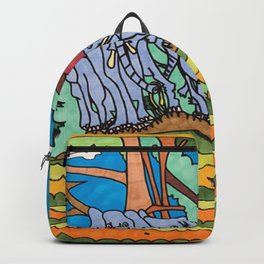 Elephant Gathering Backpack