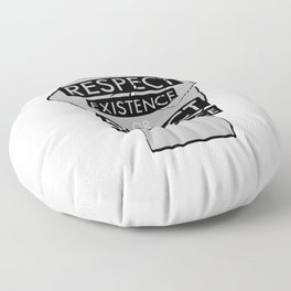 Expecting Resistance Floor Pillow