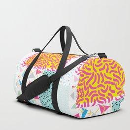 90's Pattern Funky Colors Duffle Bag