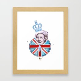 Rule Britannia Framed Art Print