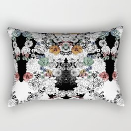 Simple Flowers Rectangular Pillow