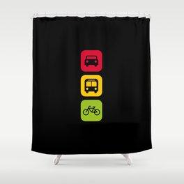 Transport Shower Curtain