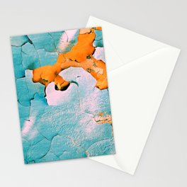 blue structure Stationery Cards