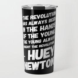 The Revolution of The Young - Huey Newton Travel Mug
