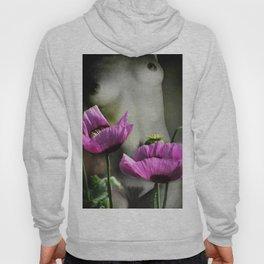 Pink Poppies Hoody