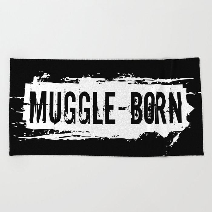 Muggle - Born Beach Towel