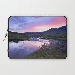 Sunset at Kungsleden Laptop Sleeve
