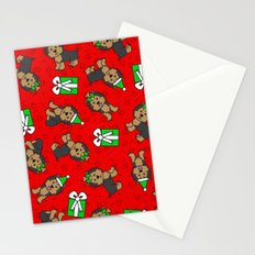 Merry Yorkies Stationery Cards