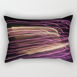 Night Stripes Rectangular Pillow