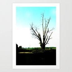 not a pretty tree 2 Art Print