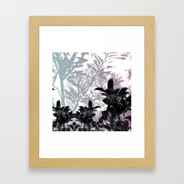 SUGARY FLORAL Framed Art Print