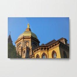 Golden Dome Metal Print